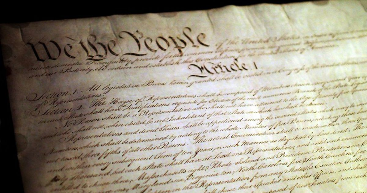 Constitution Day of USA