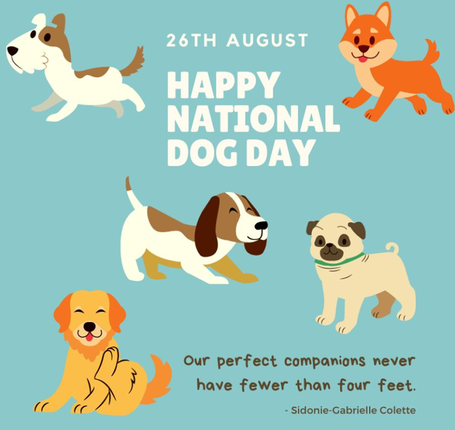 Happy National Dog Day Images